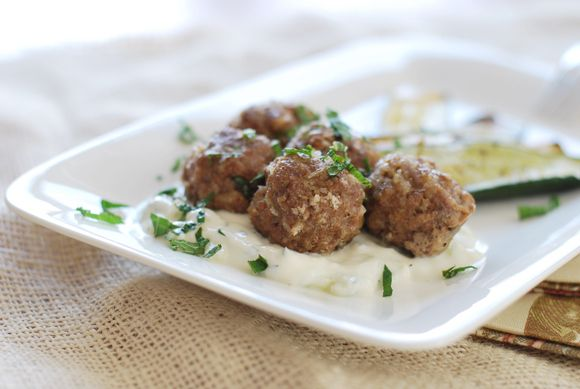 Spiced Lamb Meatballs | food and drink | Pinterest