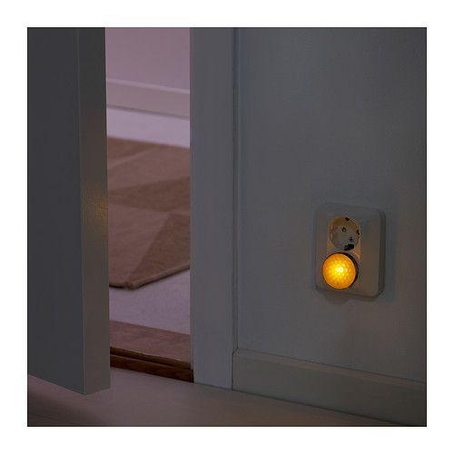 Ikea Algot Closet System Reviews ~ PATRULL Nightlight with sensor, orange