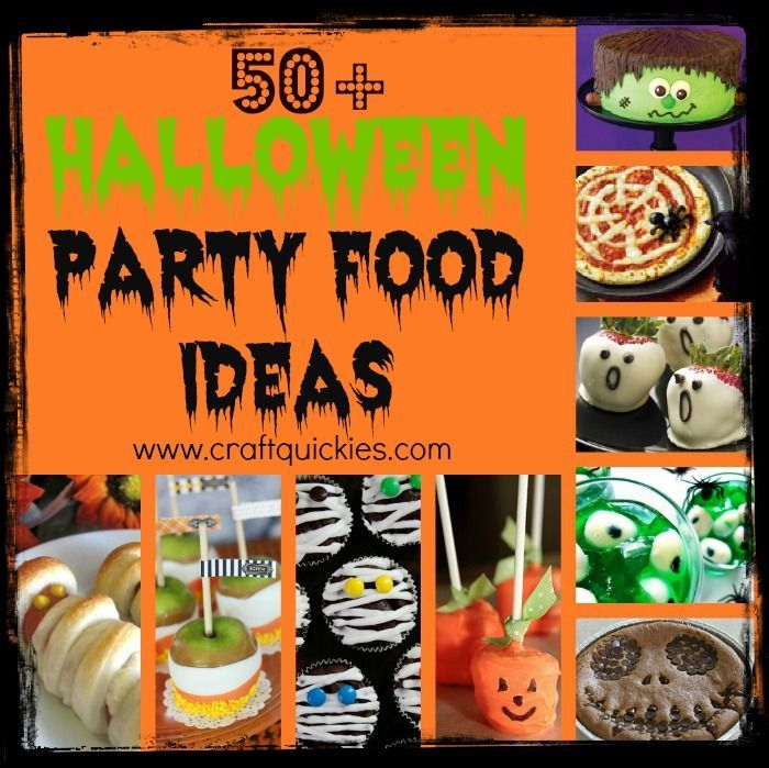 50 halloween party food ideas great ideas pinterest for How to have a great halloween party