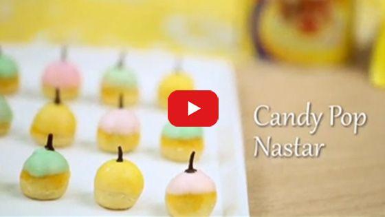 Candy Pop Nastar | Blue Band Indonesia | BlueBand Margarine Recipe