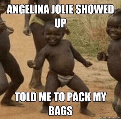 Oh, Angelina Jolie lol