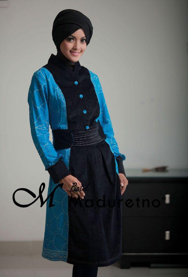 Sort Dress Batik Pesta Elegan | Pusat Batik Madura | Pinterest
