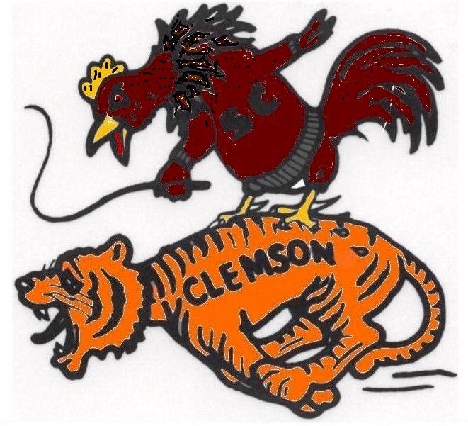 Gamecocks own Clemson | Carolina Girl | Pinterest