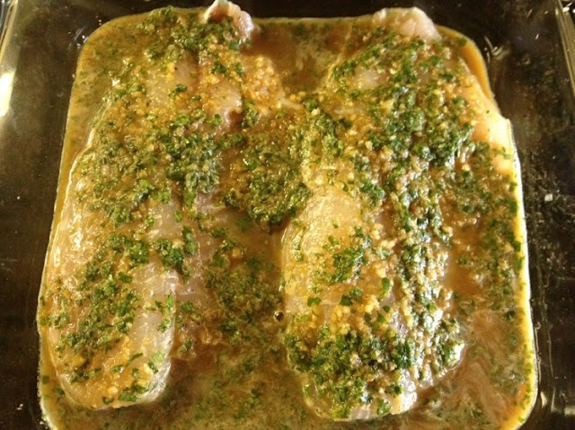 Ginger & Cilantro-Baked Tilapia-- An easy Asian-inspired fish dish ...