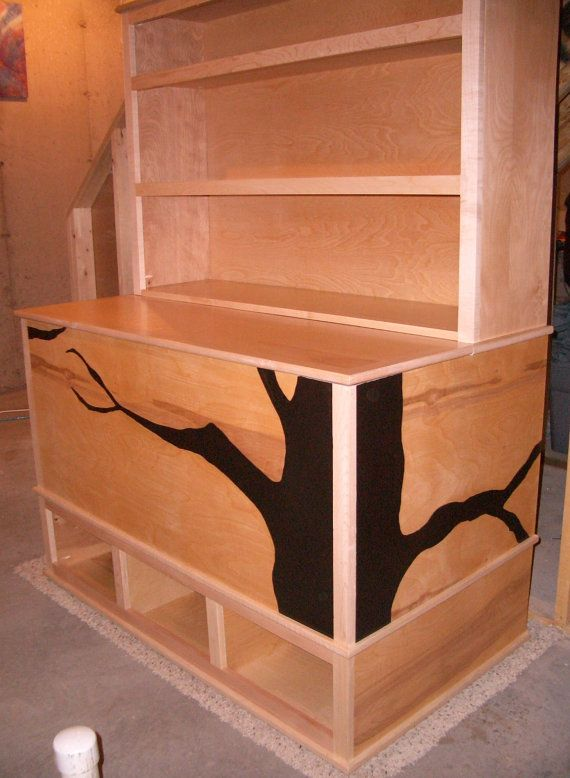 Woodworking plans toy box with cubbies and bookshelf for Toy chest plans