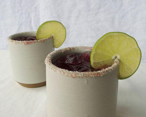 Jamaica (hibiscus) Margarita | .drinkables. | Pinterest