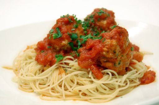 Spaghetti and Turkey Meatballs | Dinner Inspiration | Pinterest
