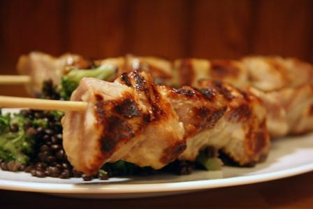 Grilled Miso Glazed Tuna by laura pants, via Flickr