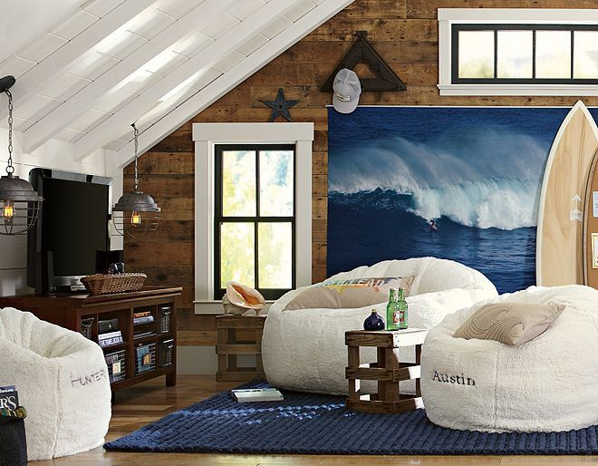 Cool surfer hang out room for the home pinterest for Surfing bedroom designs