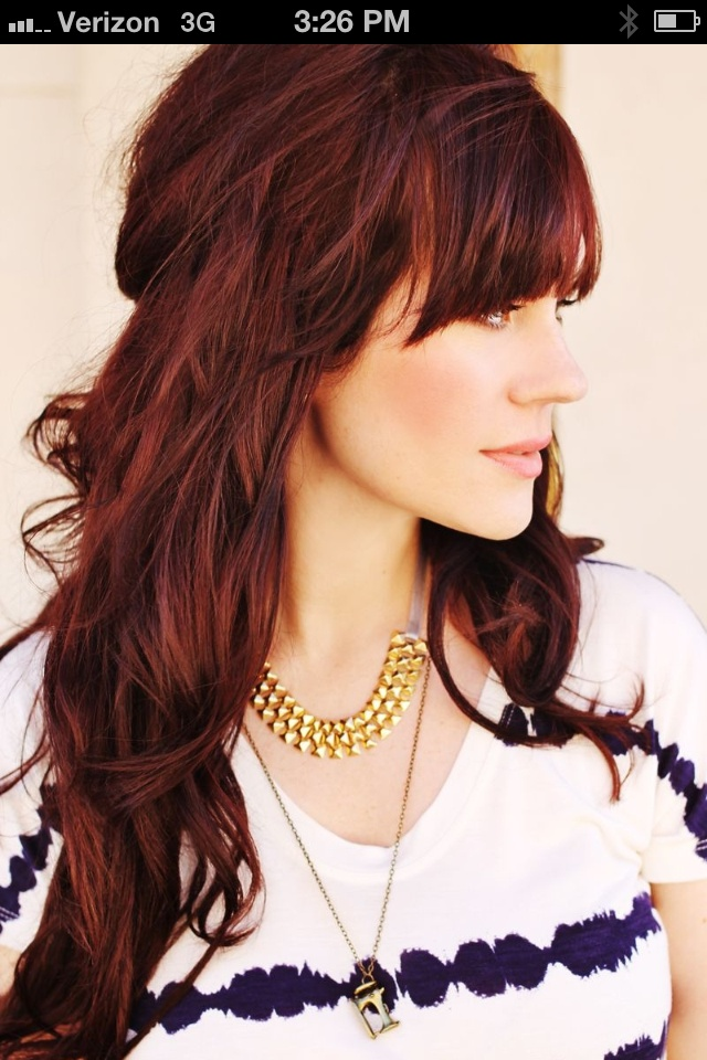 Red Hair Colors For Winter  Hair To Dye For  Pinterest