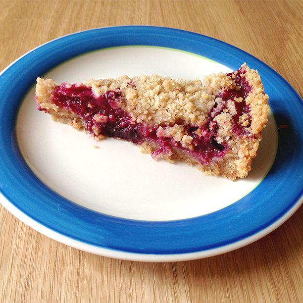 Hazelnut Plum Crumb Tart | bake it | Pinterest