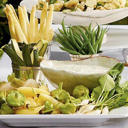 Green Goddess Dip Recipe | MyRecipes.com