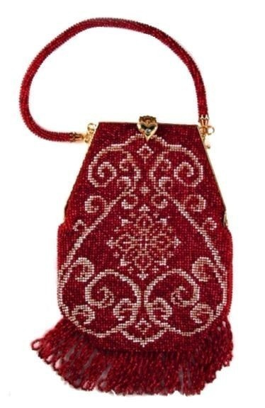 Crochet Beaded Purse Pattern : ... Crochet Beaded Purse Pattern ) PDF Download via Etsy - beadwoven purse
