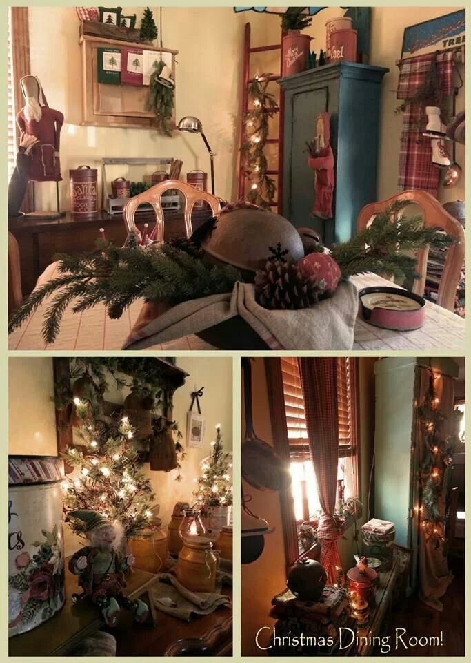 Country | Christmas Decorating. | Pinterest