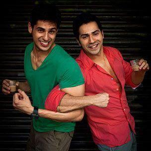 Varun Dhawan And Siddharth Malhotra Siddharth Malho...