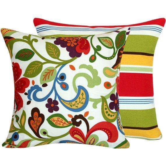 flora bunga outdoor pillows