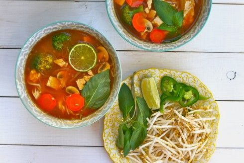 More like this: noodle soups , pho and noodles .