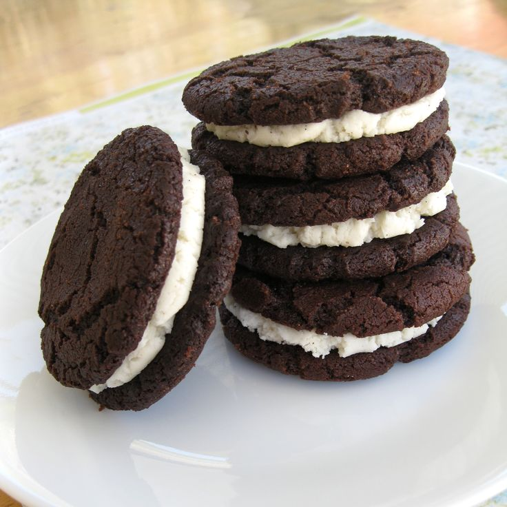 Homemade Oreos | Baking & Decorating | Pinterest