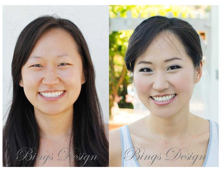 Wedding Day Makeup Before And After : Pin by Rachel Elliott on Fashion and Style Pinterest