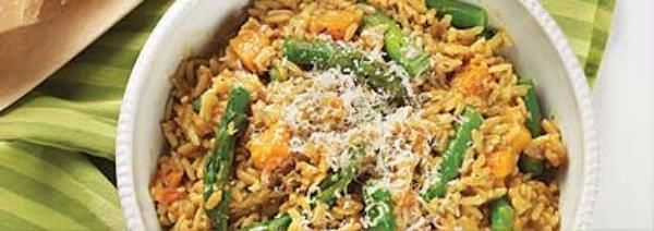 Asparagus and Squash Brown Rice Risotto | Side Dishes | Pinterest