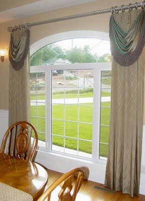 curtains for arched windows decorating ideas pinterest