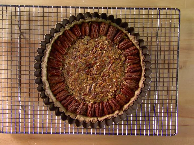 Bourbon Pecan Pie from FoodNetwork.com Alton Brown - Good Eats