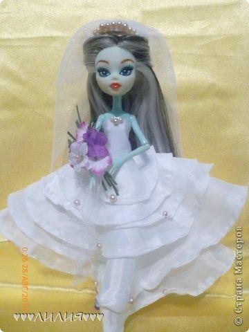 Свадебные платья для кукол монстер хай