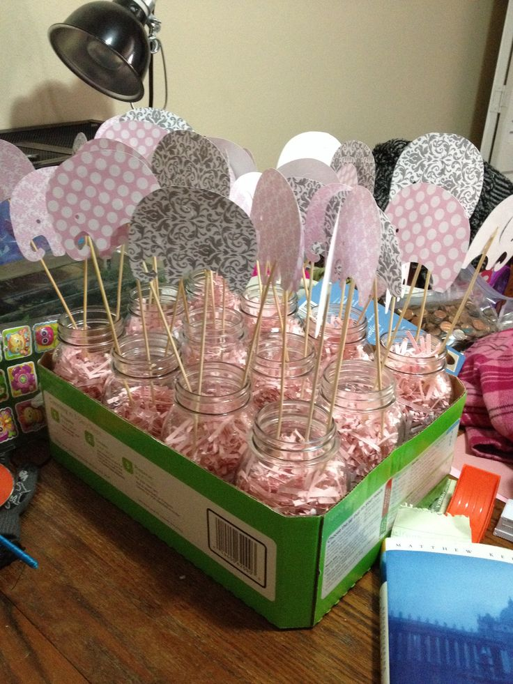 elephant baby shower decorations completed pins pinterest