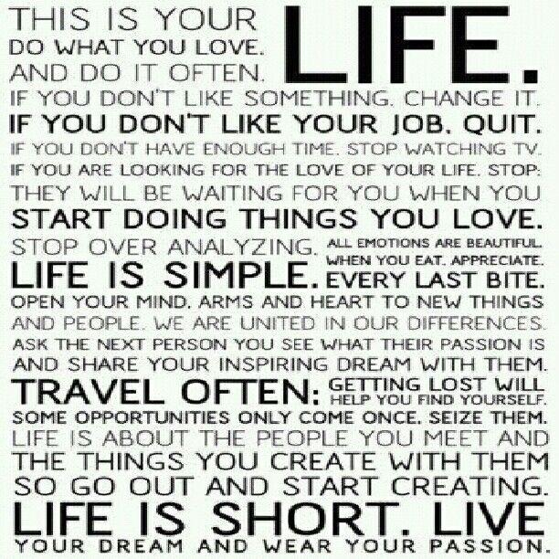 <b>Live</b> <b>life to the fullest</b> | <b>Quotes</b> | Pinterest