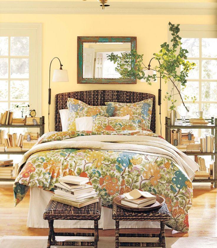 benjamin moore yellow bedroom wheatfield home pinterest