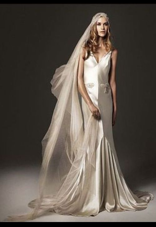 1920 39 s vintage wedding dress nice day for a white for 1920 s wedding dresses