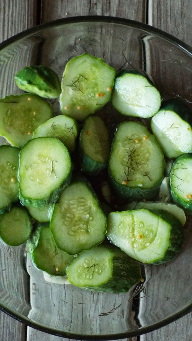 Homemade Dill Pickles (fast. . . no canning required!) - from Vegan ...