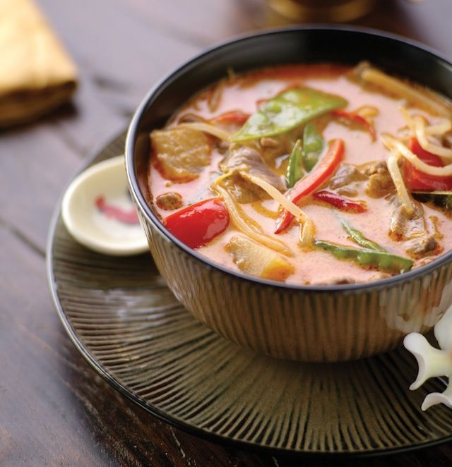 Thai Beef Red Curry | Savory | Pinterest
