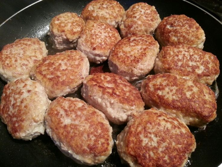 Frikadeller or Danish meatballs. | Denmark | Pinterest