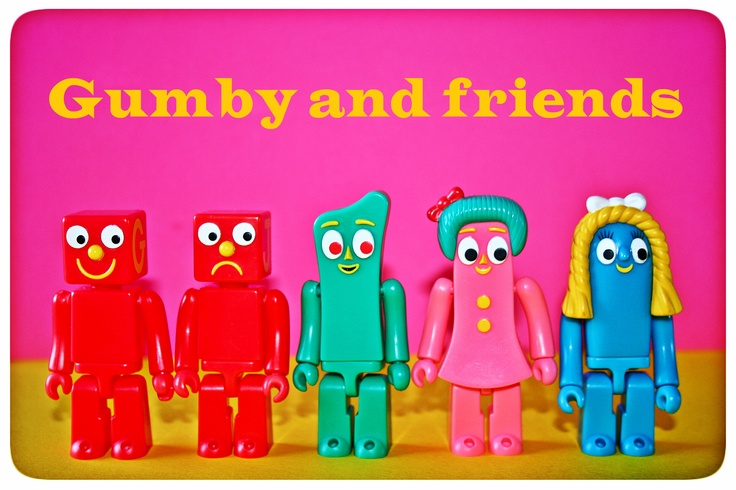 Gumby and Friends | A Little Green Ball of Clay | Pinterest