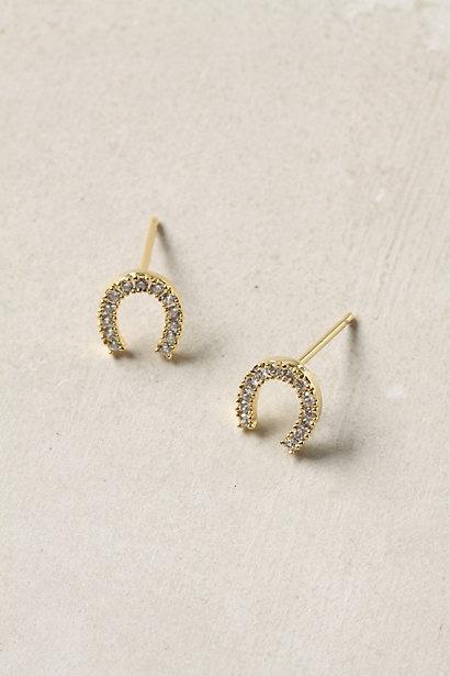 Horseshoe earrings
