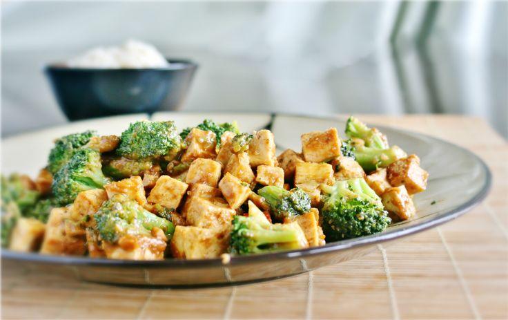 Kung Pao Tofu and Broccoli | Vegetarian | Pinterest
