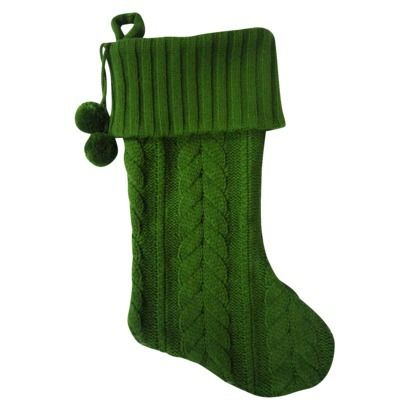 Cable Knit Christmas Stocking Pattern : Cable Knit Stocking Christmas/Winter Pinterest