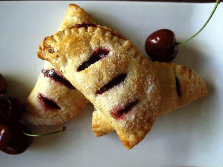 Cherry Pie Turnovers | recipes: dessert | Pinterest