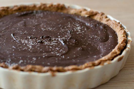 Chocolate Peanut Butter Pretzel Tart | C is for Chocolate | Pinterest