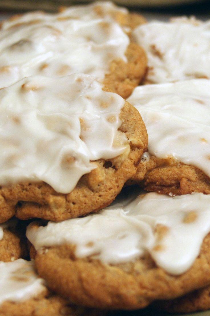 Glazed Apple Cookies Recipe | Fabulous Sweets | Pinterest