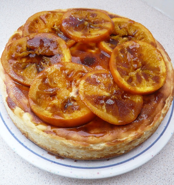 Caramelised Orange Cheesecake | For the love of Sweet | Pinterest