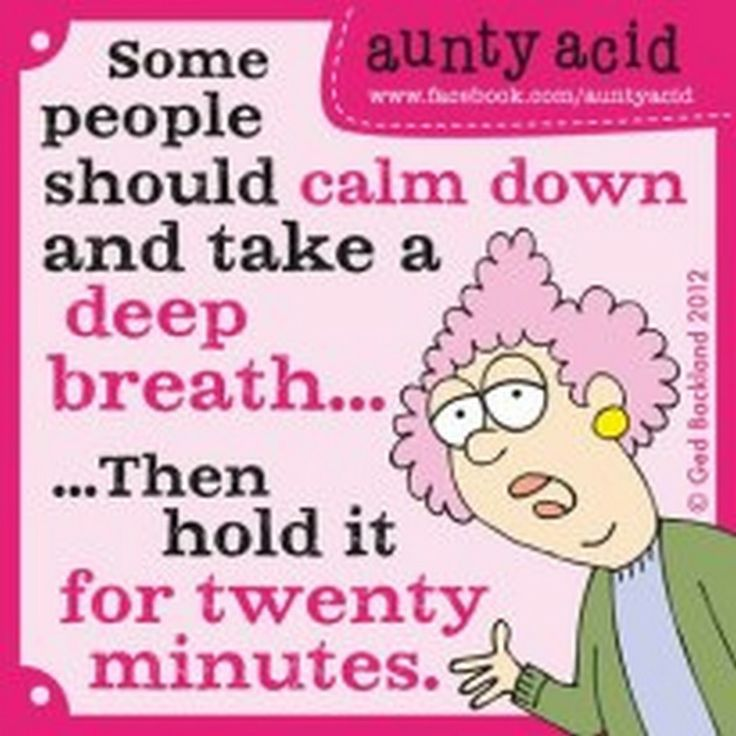 Aunty Acid Cartoons