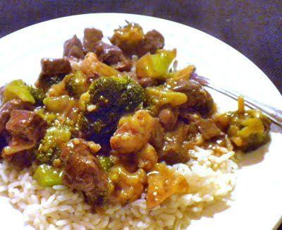 Sriracha Beef Stir-Fry with Broccoli and Cauliflower