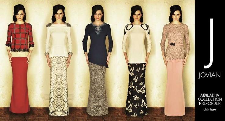 Jovian Mandagie Aidiladha Collection | Baju kurung | Pinterest