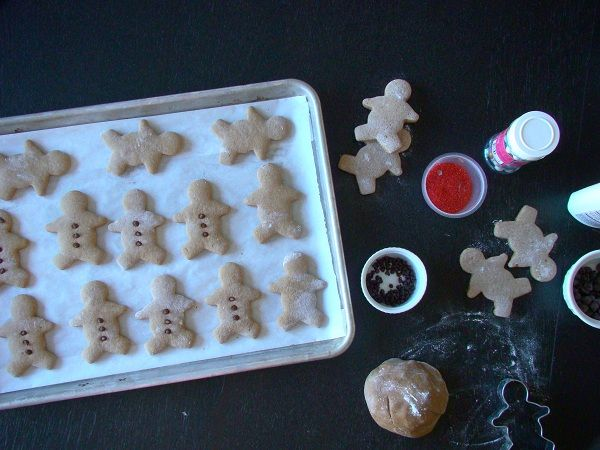 Low-fat Gingerbread Men Cookies | Holiday & Special Event Food and Cr ...