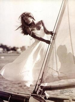 nothing is more beautiful than a dress blowing in the breeze