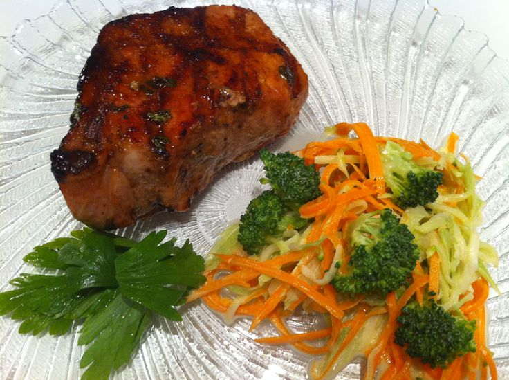 Grilled Pork Chops With Garlic Lime Sauce Recipes — Dishmaps