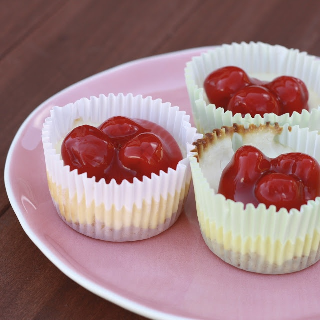 Easy Peasy : Mini Cheesecake recipe | yummy yummy | Pinterest