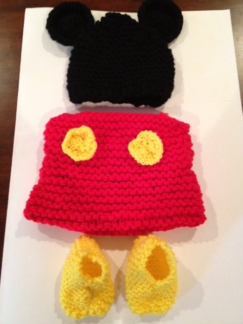 Mickey Mouse Knitted Hat Pattern : Free Mickey Mouse Knit Hat Pattern Joy Studio Design Gallery - Best Design